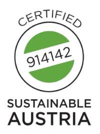 Nachhaltig zertifiziert Logo